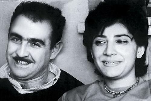 Нани Брегвадзе с мужем