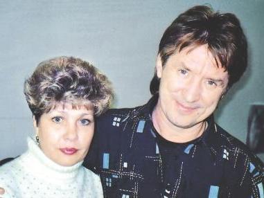 Сергей Дроздов с женой