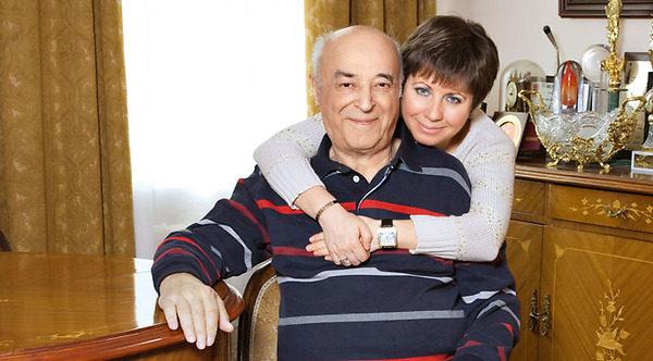 Владимир Этуш и Елена Горбунова