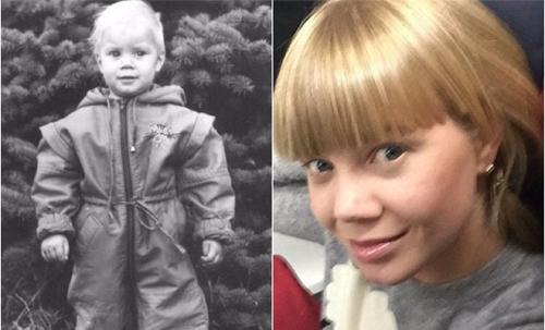 Алла Михеева в детстве и юности