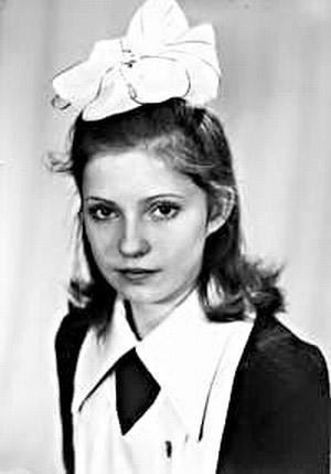 Юлия Тимошенко в юности