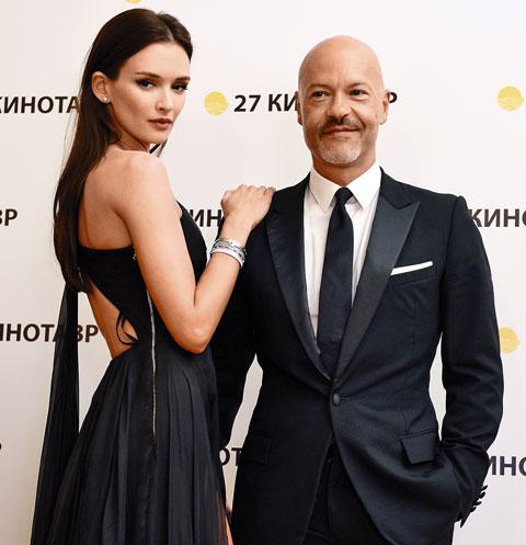 Федор Бондарчук с Паулиной Андреевой