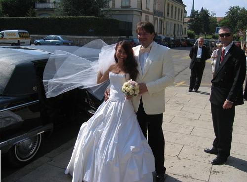 Анна Плетнева с мужем