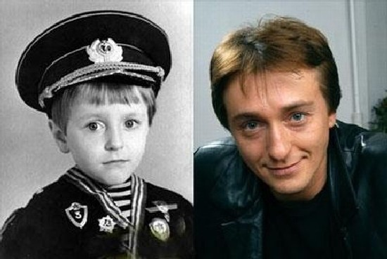 Сергей Безруков в детстве