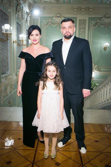 Баста. Фото с семьей