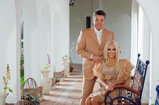 Таисия Повалий с мужем Игорем