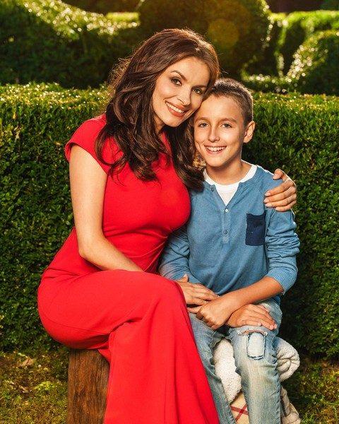 Грановская с сыном Игорем. Фото