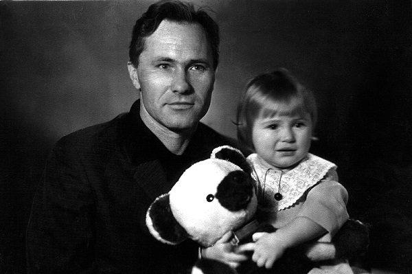 Мария Шукшина с отцом