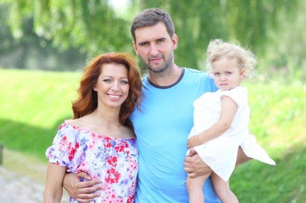 Юлия Коган с мужем