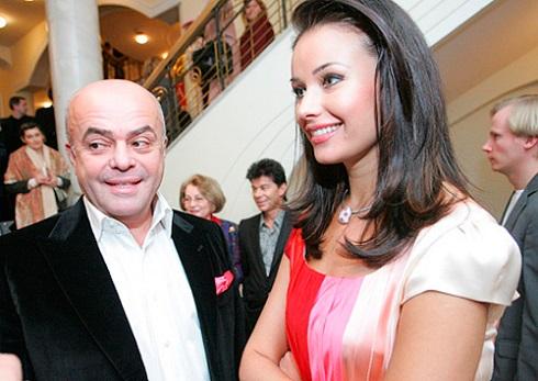 Оксана Федорова и Владимир Голубев