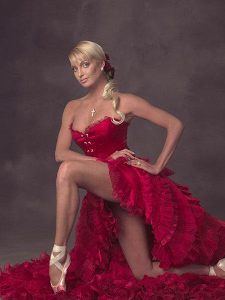 Балерина Анастасия Волочкова. Фото