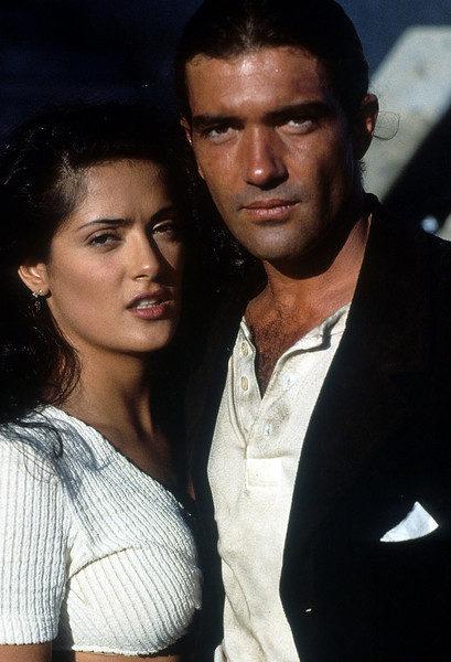 Сальма Хайек с Антонио Бандерасом