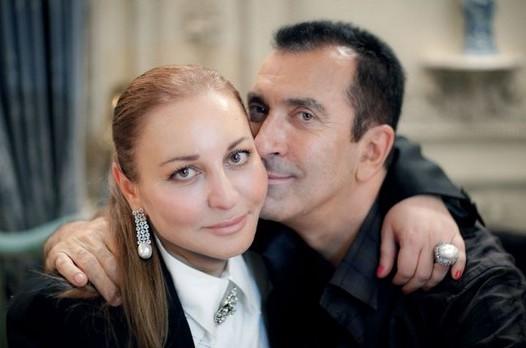 Александр Буйнов  c женой Еленой