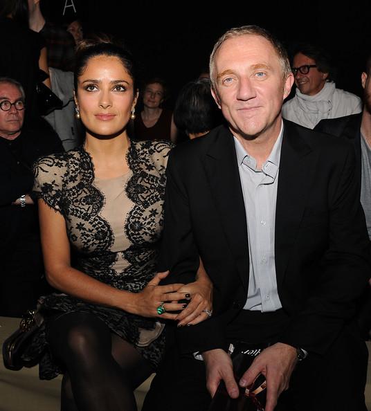 С мужем Франсуа