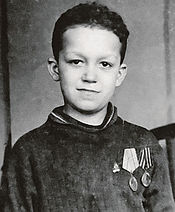 Иосиф Кобзон в детстве. Фото