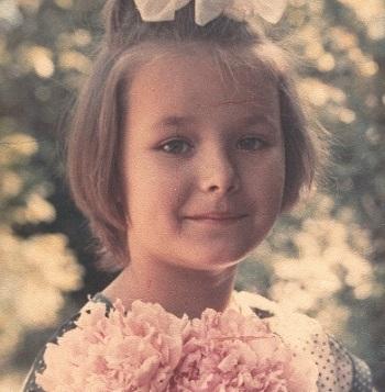 Оксана Федорова в детстве
