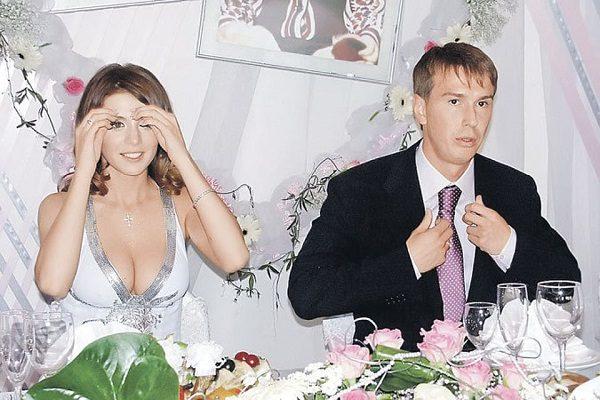 Анна Седокова и Валентин Белькевич. Фото свадьбы
