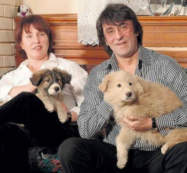 Юрий Башмет с женой