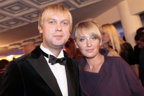 Сергей Светлаков и жена Юлия