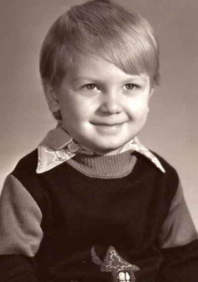 Сергей Светлаков в детстве