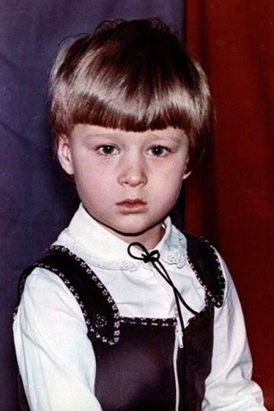 Александр Поветкин в детстве