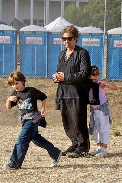 Аль Пачино с детьми