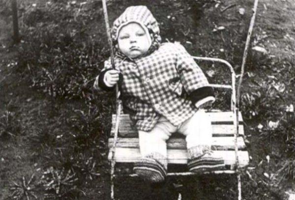 Федор Емельяненко в детстве. Фото