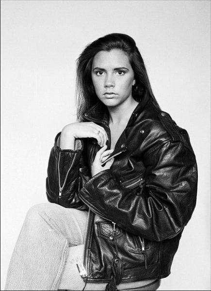 Виктория Бекхэм в молодости. Фото
