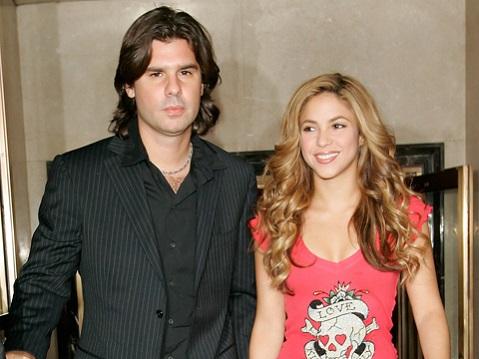 Шакира и Антонио де ла Руа