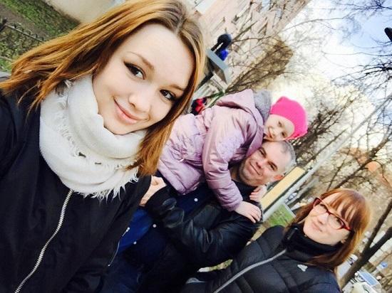 Семья Дианы Шурыгиной. Фото