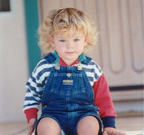 Зак Эфрон в детстве. Фото