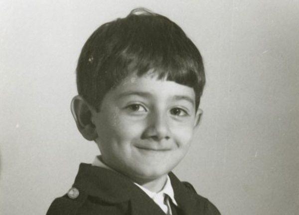 Михаил Галустян в детстве. Фото