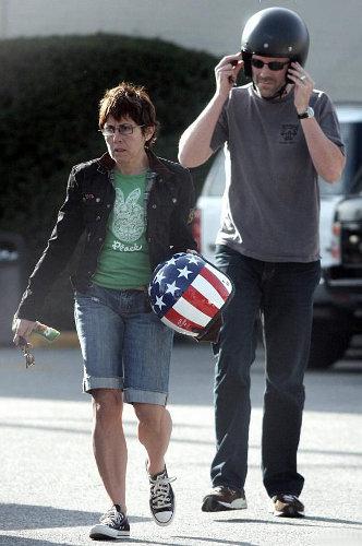 Хью Лори с женой Джо Грин