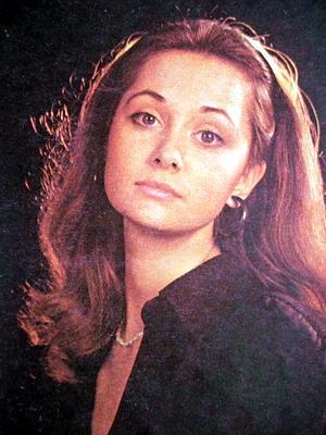 Ольга Кабо в молодости. Фото