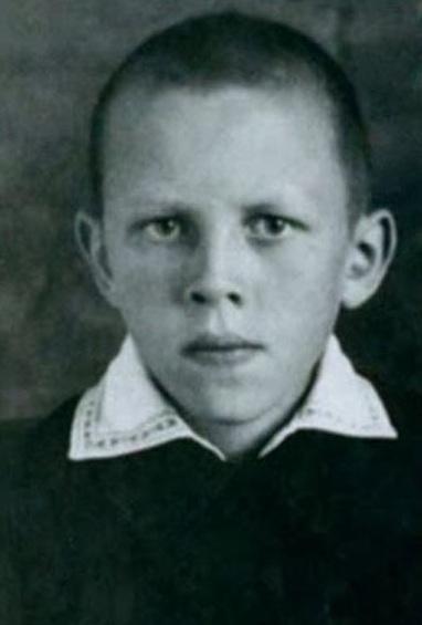 Валерий Золотухин в детстве. Фото