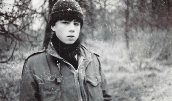 Сергей Бодров в детстве. Фото