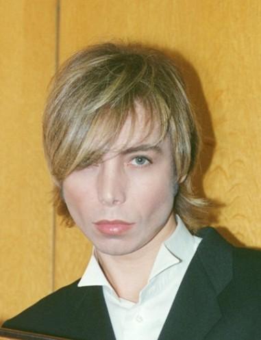 Сергей Зверев в юности