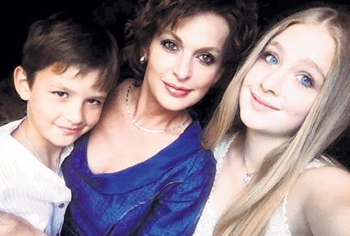 Сергей Бодров жена с детьми