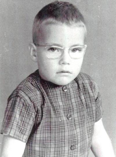 Жан-Клод Ван-Дамм в детстве. Фото