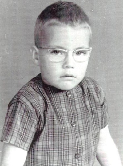 Жан-Клод Ван-Дамм в детстве
