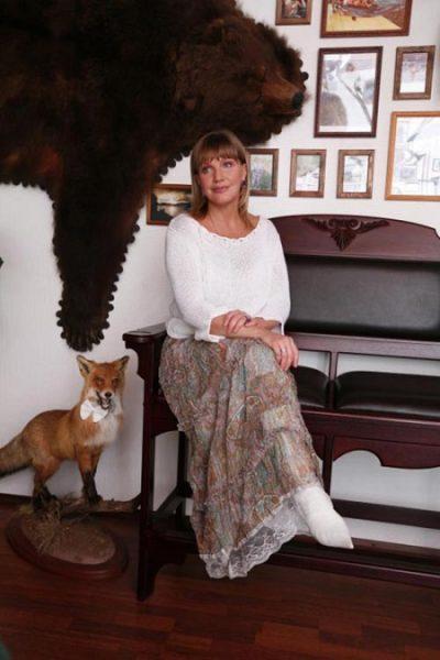 Телеведущая и актриса Елена Проклова. Фото
