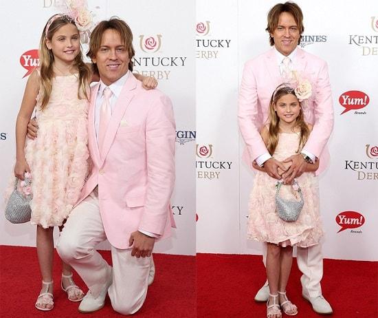 Ларри Биркхед с дочерью