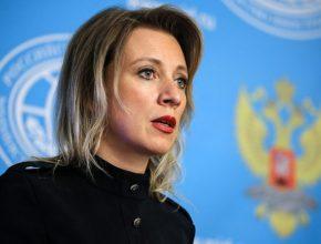 Мария Захарова отправилась в долгожданный отпуск