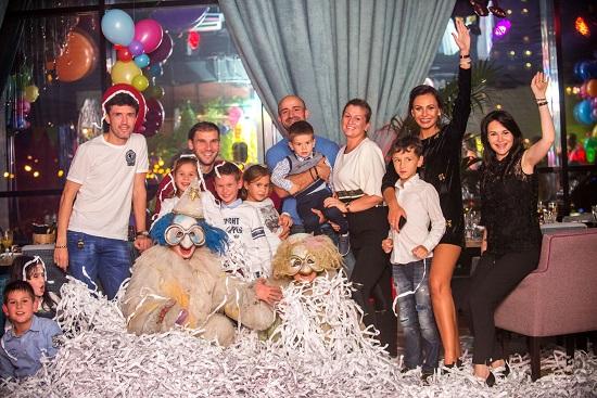 Семья Жирковых день рождения сына