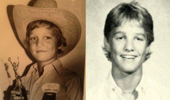 Мэттью Макконахи в детстве. Фото