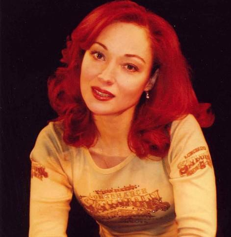 Виктория Тарасова в молодости