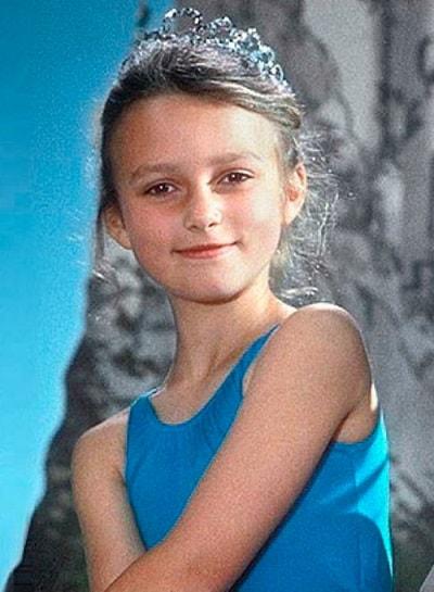 Кира Найтли в детстве