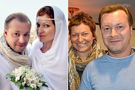 Виктор Петлюра со второй женой. Фото