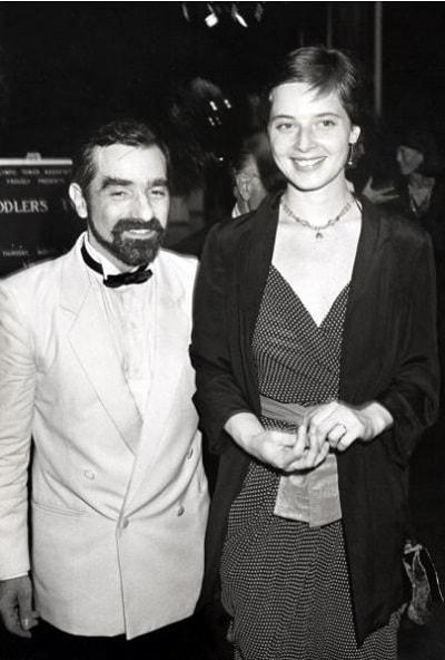 Мартин Скорсезе и Изабелла Росселинни
