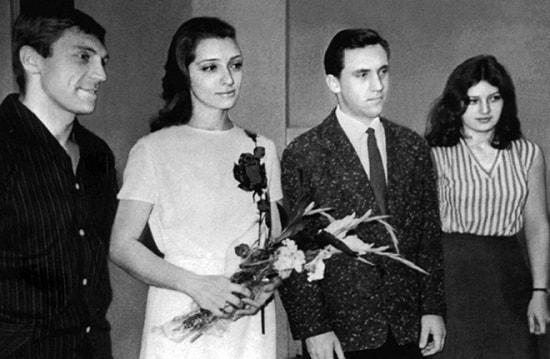 Владимир Высоцкий и Людмила АБрамова. Свадьба